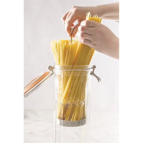 Frasco Dispensador de Tallarines 2.2 Lts. Kilner