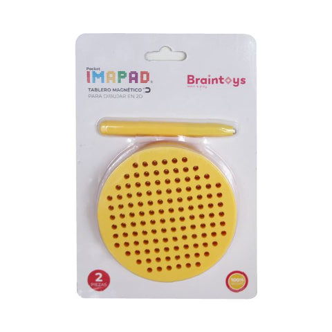 Pocket Imapad Amarillo BRAINTOYS- Depto51
