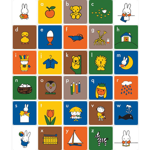 Mural Miffy ABC I IXXI