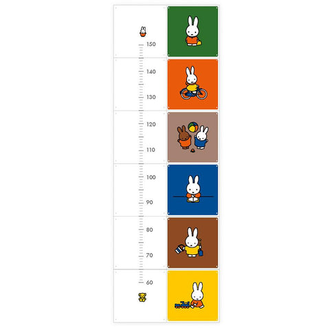 Mural Miffy Growth Chart