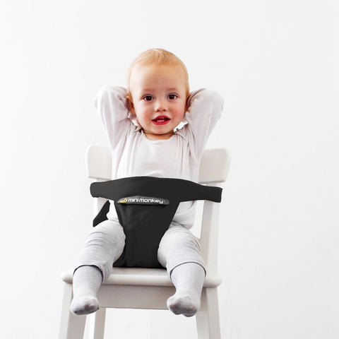 Portabebé Mini Chair Black Minimonkey