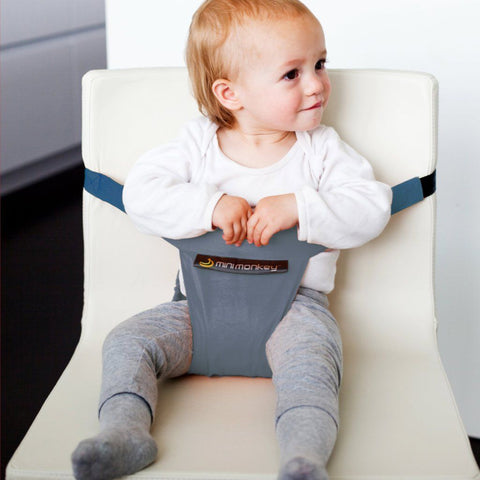 Portabebé Gris Mini Chair Minimonkey
