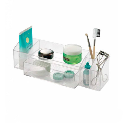 Organizador de Acrílico Caddy Interdesign