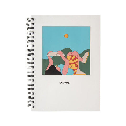 Cuaderno Tapa Dura A Day in the Park ONLY JOKE- Depto51