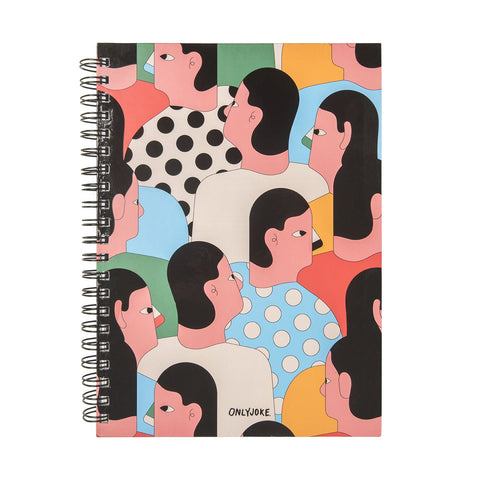 Cuaderno Tapa Dura People ONLY JOKE- Depto51