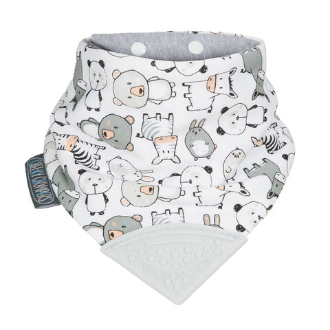 Babero Reversible con Mordedor Neckerchew Panda Pals CHEEKY CHOMPERS- Depto51