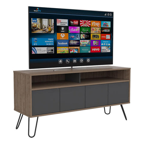 Rack TV Vassel Miel Gris