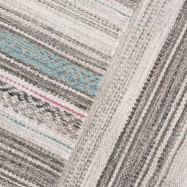 Alfombra Kelim Tribal Vintage Natural Grey Multicolor III - DIB