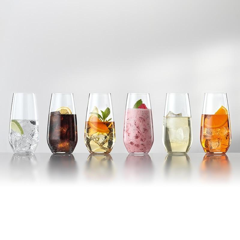 Set de 6 Vasos Largos Cristal Authentis Casual SPIEGELAU- Depto51