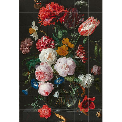 Mural Still Life with Flowers IXXI