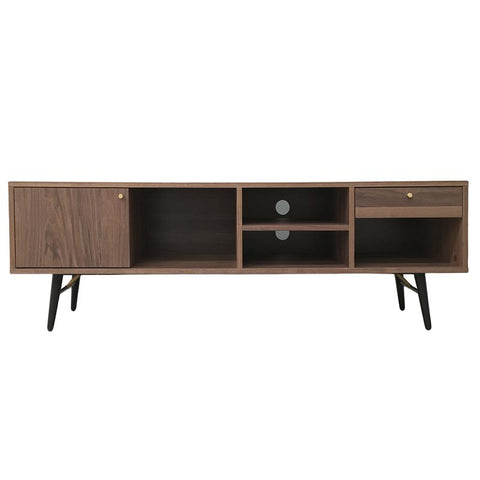 Mueble TV Rack Walnut THE DESIGN MARKET- Depto51
