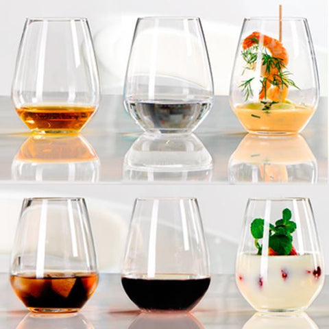 Set de 6 Vasos Cortos Authentis Casual