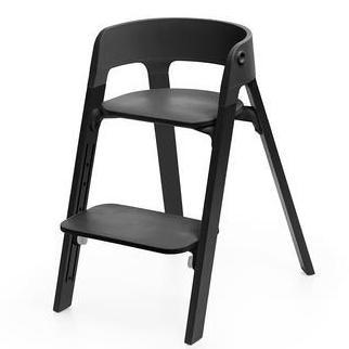 Pack Silla Stokke Steps Negro/Roble Negro + Baby Set