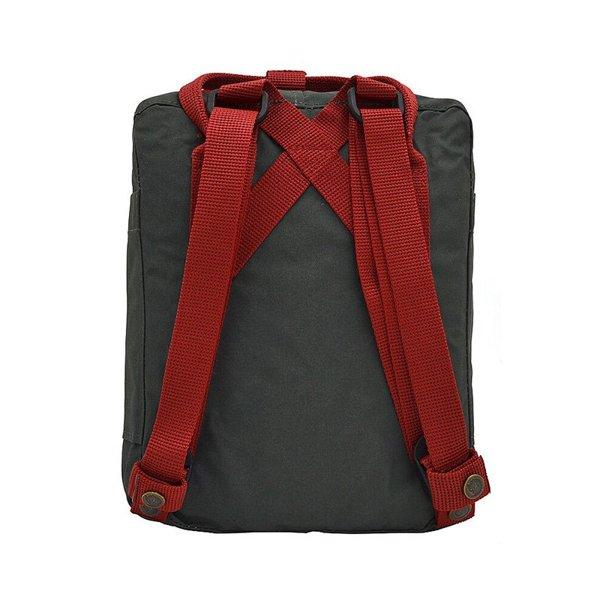 Mochila Kanken Mini Forest Green - Ox Red