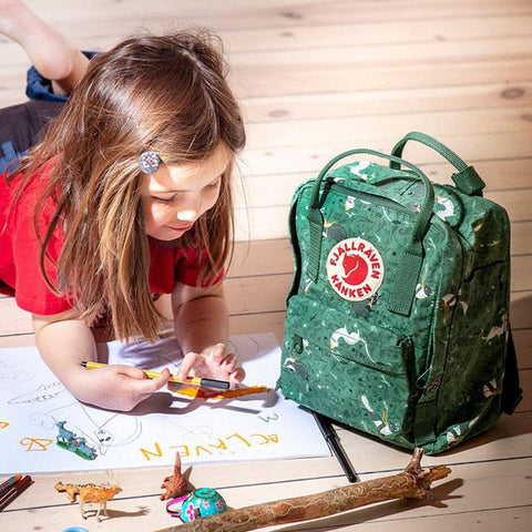 Mochila Kanken Mini Art Green Fable KANKEN- Depto51