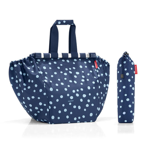 Bolsa Carro Supermercado Easyshoppingbag Spots Navy REISENTHEL- Depto51