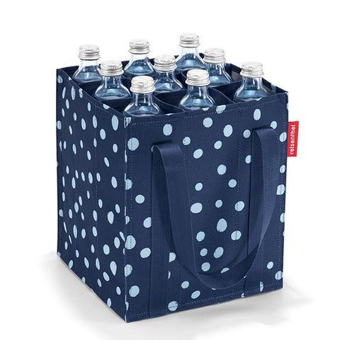 Bolsa para Botellas Bottlebag Spots Navy REISENTHEL- Depto51