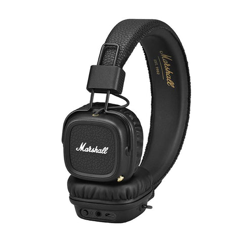 Audífonos Bluetooth On-Ear Marshall Major II Negro I MARSHALL