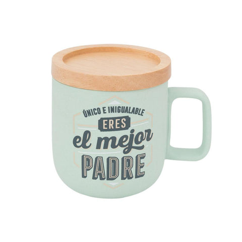 Taza - Único e inigualable, eres el mejor padre Mr. Wonderful MR.WONDERFUL- Depto51