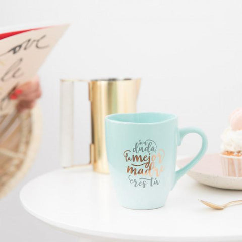 "Taza ""Sin duda la mejor madre eres tú"" Mr. Wonderful I MR.WONDERFUL"