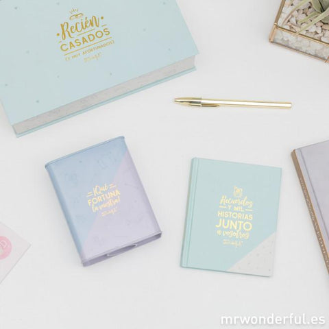 Set de regalo para recién casados ARTICULOS DE ESCRITORIO MR.WONDERFUL