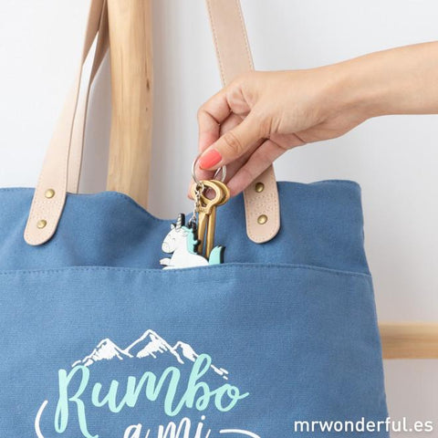 Tote Bag - Rumbo a mi próxima aventura Mr. Wonderful I MR.WONDERFUL