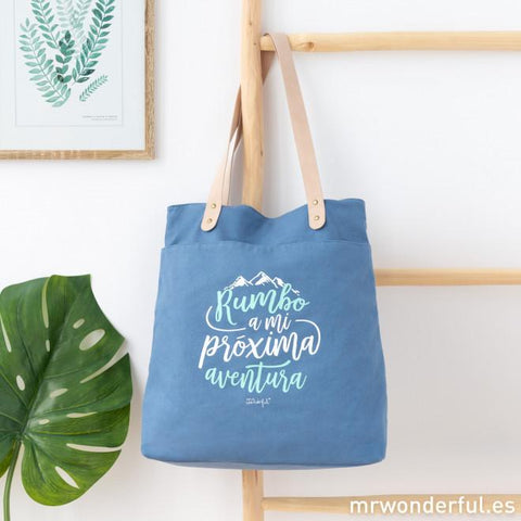 Tote Bag - Rumbo a mi próxima aventura Mr. Wonderful