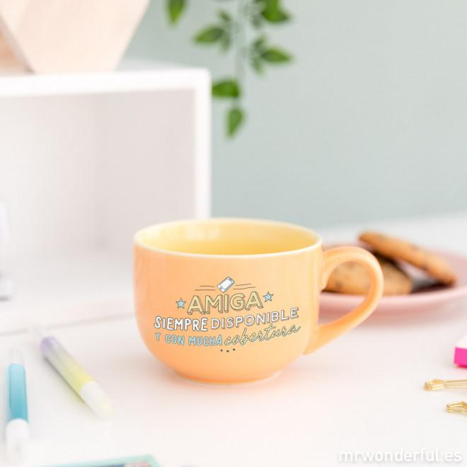 Taza - Amiga siempre disponible y con mucha cobertura MR.WONDERFUL- Depto51