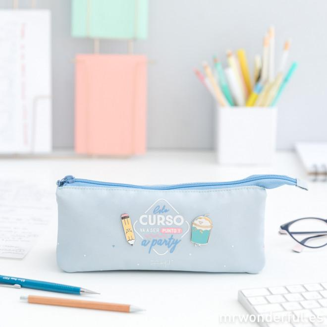Estuche triple - Este curso va a ser punto y a party MR.WONDERFUL- Depto51