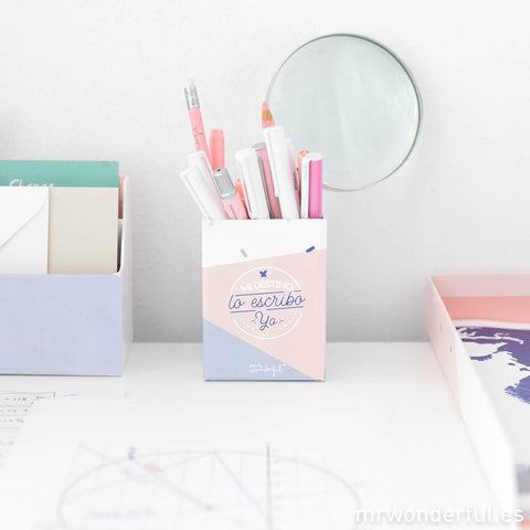 Kit de Escritorio para tenerlo todo bajo control Mr. Wonderful I MR.WONDERFUL