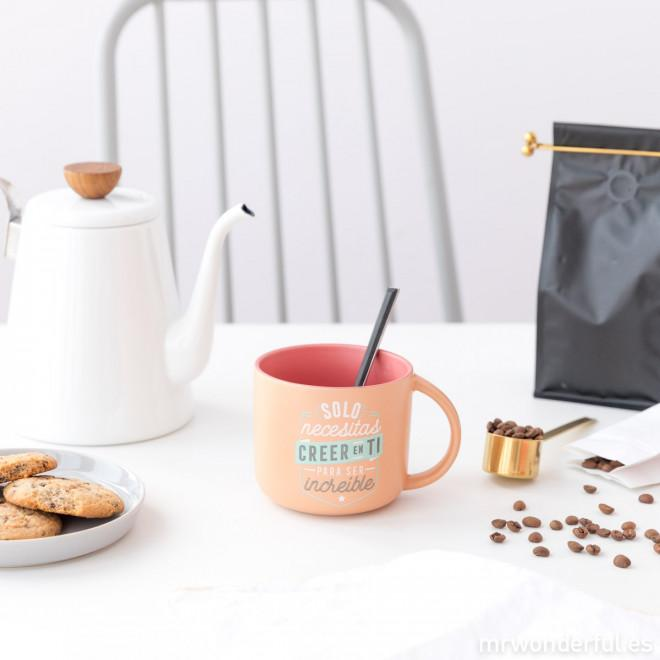 Taza - Solo necesitas creer en ti para ser increíble MR.WONDERFUL- Depto51