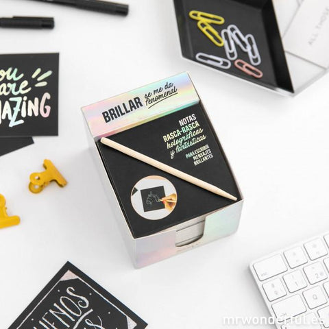 Taco de notas holográficas - The Powerful Collection BLOCS DE NOTAS MR.WONDERFUL