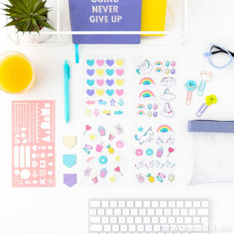Kit para Personalizar y Animar tu Agenda y Libretas MR.WONDERFUL- Depto51