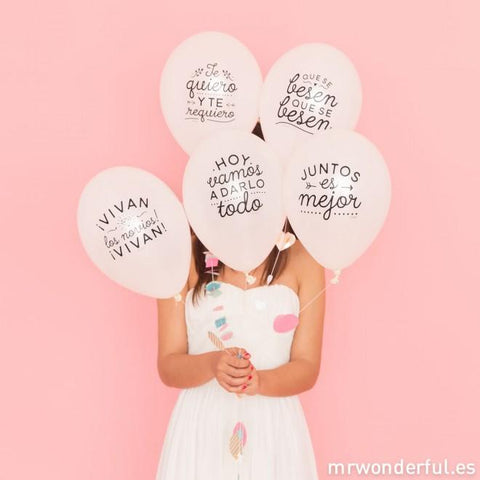 Globos para matrimonios geniales DECORACION FIESTAS Y CUMPLEAÑOS MR.WONDERFUL