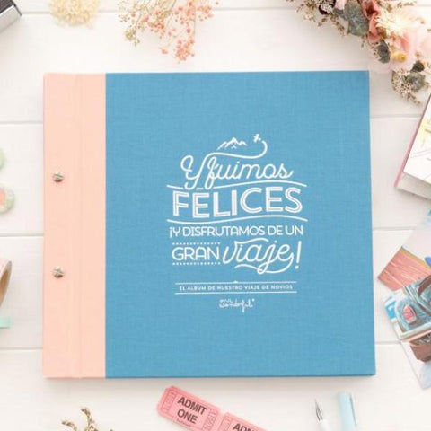 El álbum de nuestro viaje de novios Mr. Wonderful MR.WONDERFUL- Depto51