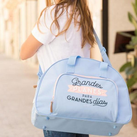 Bolso de deporte - Grandes planes para grandes días Mr. Wonderful - MR.WONDERFUL