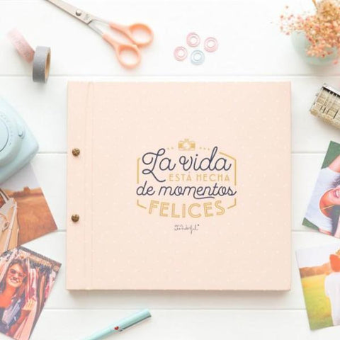 Álbum - La vida está hecha de momentos felices Mr. Wonderful
