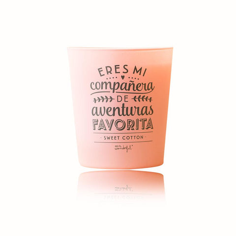 Vela - Eres mi compañera de aventuras favorita Mr. Wonderful I MR.WONDERFUL