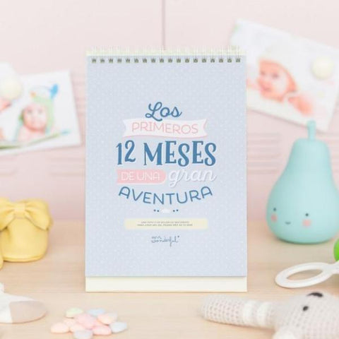 Cuentameses - Los 12 primeros meses de una gran aventura Mr. Wonderful I MR.WONDERFUL