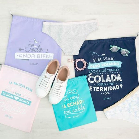 Pack de bolsas bonitas para viajar Mr. Wonderful