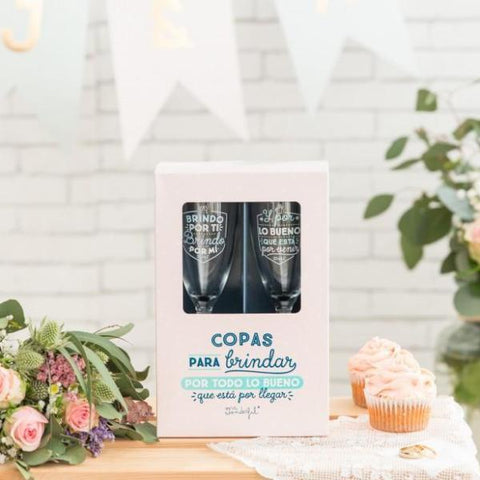 Copas para brindar por lo bueno que está por llegar Mr. Wonderful - MR.WONDERFUL-depto-51.myshopify.com