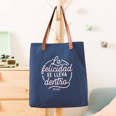 Bolso - La felicidad se lleva dentro Mr. Wonderful I MR.WONDERFUL