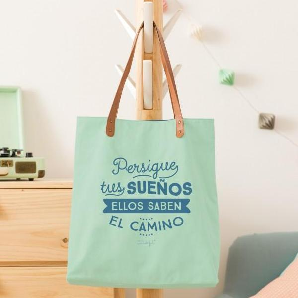 Bolso - Persigue tus sueños, ellos saben el camino Mr. Wonderful I MR.WONDERFUL
