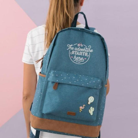 Mochila - The adventure starts here Mr. Wonderful