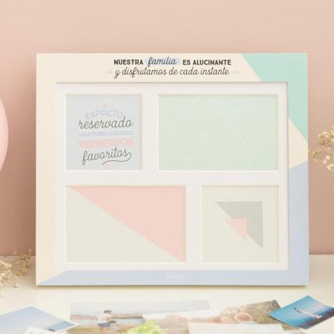 Marco Multifoto - Nuestra familia es alucinante Mr. Wonderful