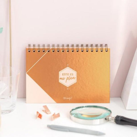 Organizador semanal Mr. Wonderful - Este es mi plan MR.WONDERFUL- Depto51