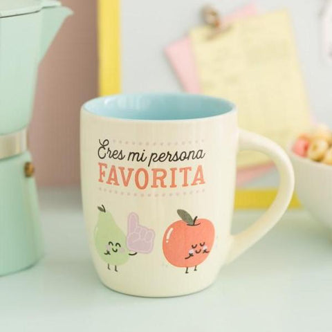 Taza - Eres mi persona favorita Mr. Wonderful