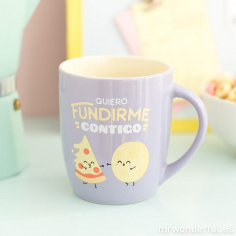 Taza - Quiero fundirme contigo - MR.WONDERFUL