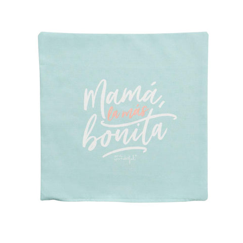 Funda de cojín - Mamá, la más bonita Mr. Wonderful - MR.WONDERFUL