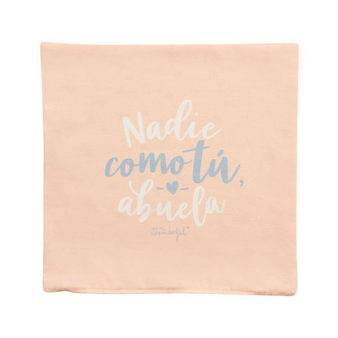 Funda de cojín - Nadie como tú, abuela Mr. Wonderful - MR.WONDERFUL